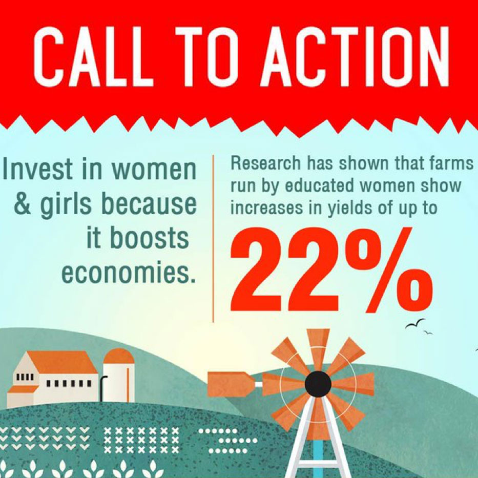 Invest in Women and Girls Flyer